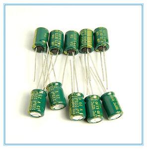 100pcs 10V 220uF 10V TaiWan YEC 6x12mm Aluminum Electrolytic Capacitor