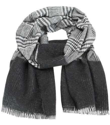 Caripe XXL Damen Winter Schal kariert Halstuch warm Strickschal Karo 1902-4WJ