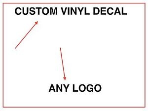 LARGE CUSTOM VINYL DECALS STICKER ANY LOGO OR IMAGE FAST - Large custom vinyl stickers
