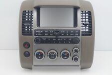 2005-07 06 Nissan Pathfinder Instrument Panel Radio Climate center Bezel Vent OE