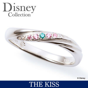 Disney × THE KISS Princess Little Mermaid Ariel Silver 925 Ring 4 5 ...