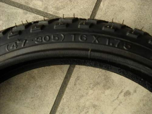 47-305 Tire Cycle Child BMX /& Cross 16 x 1,75