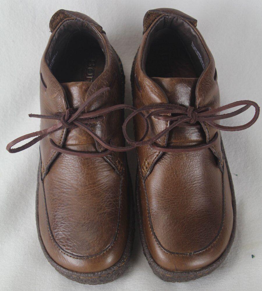 Born Ramapo Chestnut marron Leather Platform chaussures 6.5 M W W W NIB c5fb46