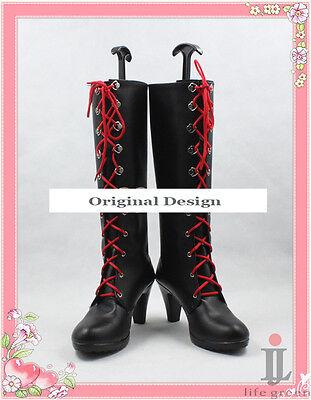 Danganronpa Dangan Ronpa Junko Enoshima Boot Party Shoes Cosplay Boots