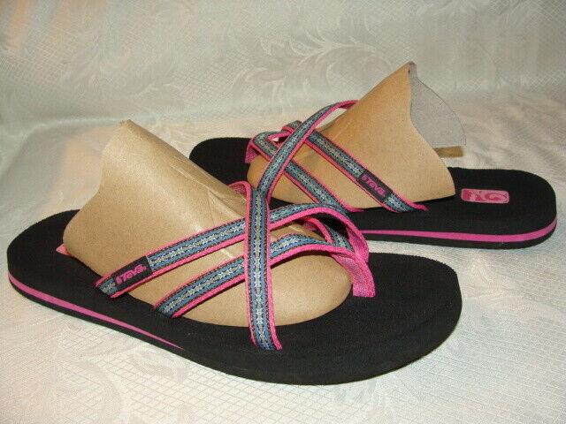 TEVA MUSH  Thong Sandals   Flip Flops  #6840    Womens Size 9      EUC