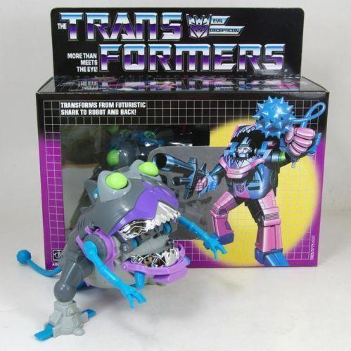 Transformadores de RONGER SHARKTICON HASBRO G1 regalos de figuras de acción