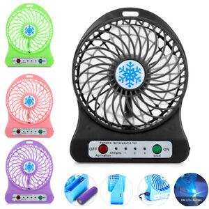 Portable-Rechargeable-LED-Light-Fan-Air-Cooler-Mini-Desk-USB-18650-Battery-Fan