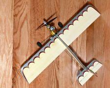 Vintage Control Line Model Airplane as found Powered by a Cox Golden Bee .049