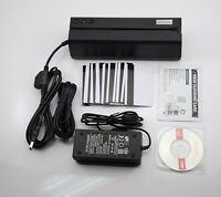 Msr606 Credit Card Reader Write Encoder Magnetic Stripe Swipe 3tracks Msr206