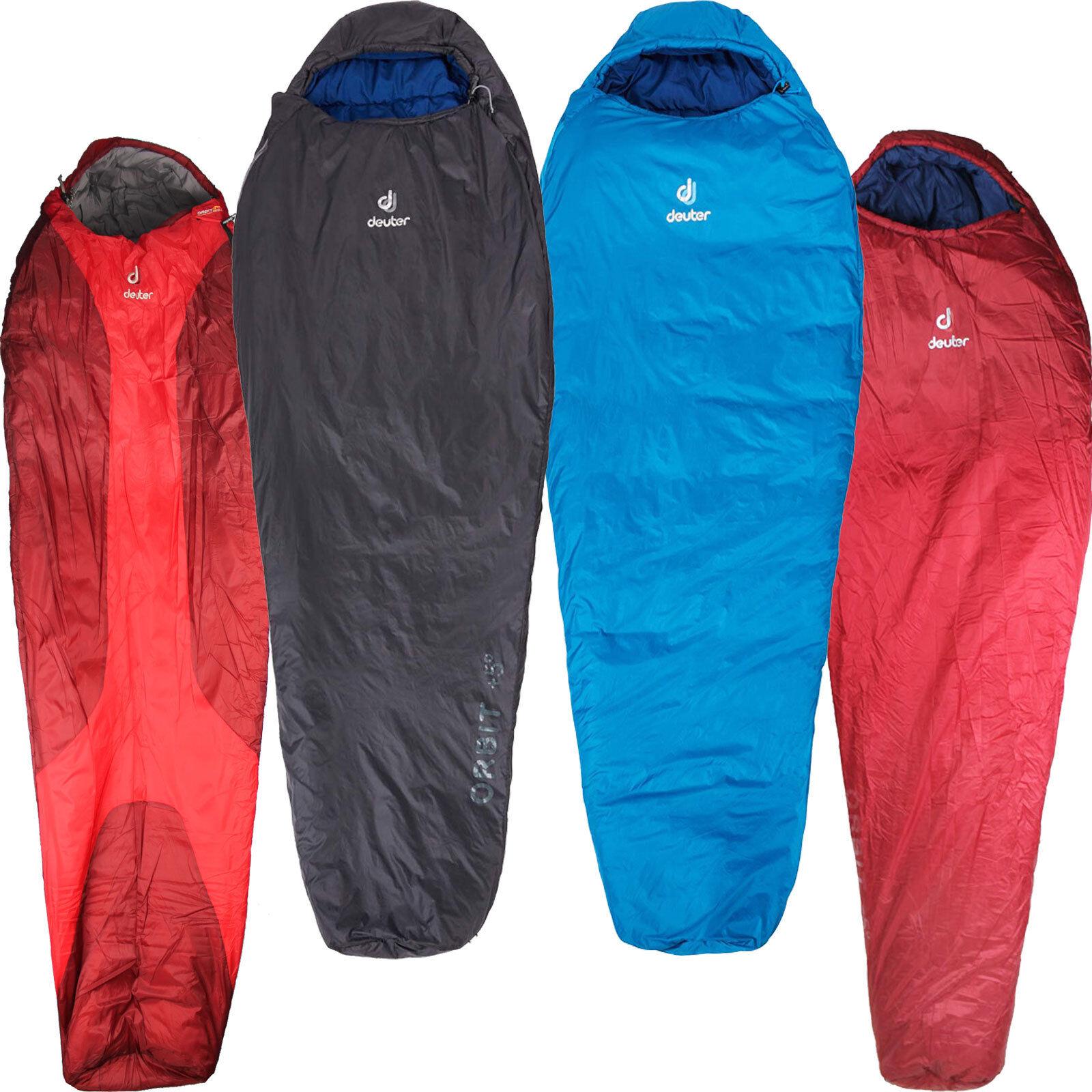 Deuter Orbit Unisex Sleeping Bag Mummy Lightweight Camping