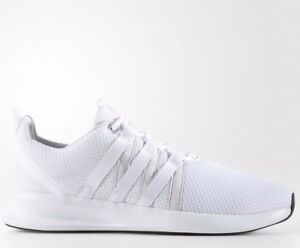 detailed look d84d2 9e02a Image is loading ADIDAS-LOOP-RACER-RUNNING-TRAINERS-TRIPLE-WHITE-B42440-