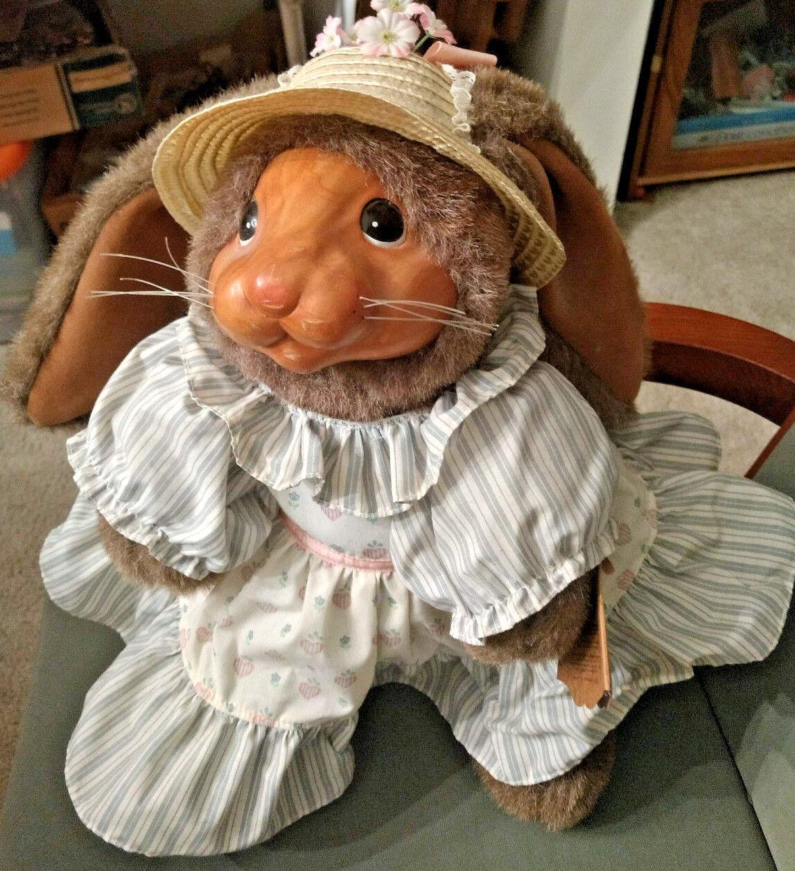 Robert Raikes Bear Jill Bunny Rabbit 20266  No 4565 of 5000  RARE
