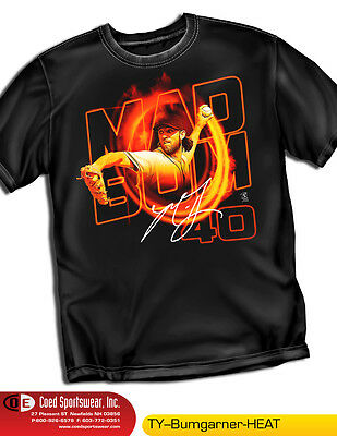 Madison Bumgarner San Francisco Giants Heat Shirt