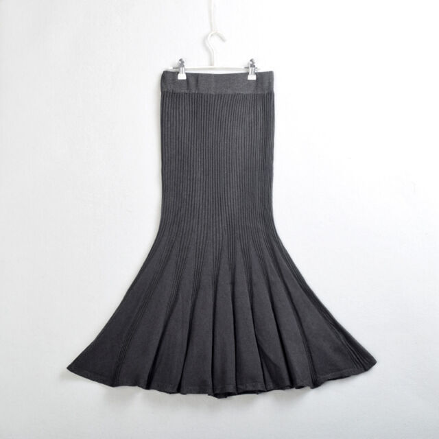 New Sexy Lady Slim Long Fishtail Skirt Woman Bodycon One-step Skirt Pencil Skirt