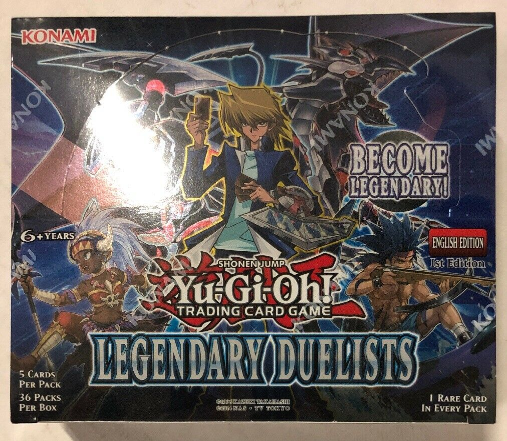 Yugioh Legendary Duelists 1st Edition 24-Count Booster Box TCG CCG Cards