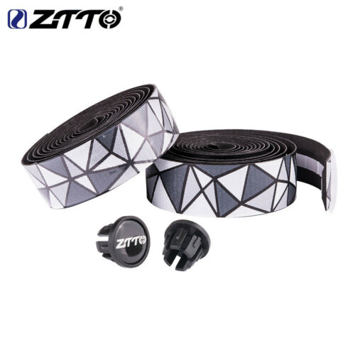 ZTTO Road Bike Bar Tape Handlebar EVA PU Tape Shock-Proof Roadbike With Bar Plug