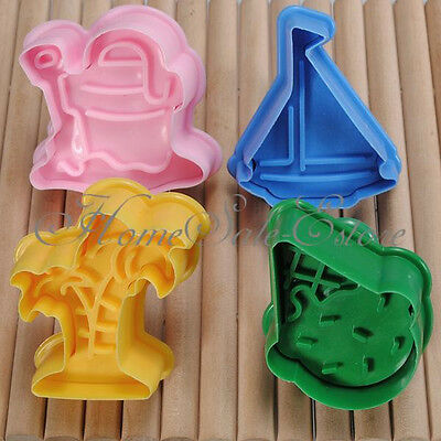 Fondant Cake Cookie Pastry Plunger Cutter Sugarcraft Mold Wedding Party XMAS