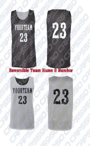 Custom Basketball Jersey Badger Pro Mesh Reversible add YOUR TEAM NAME NUMBER