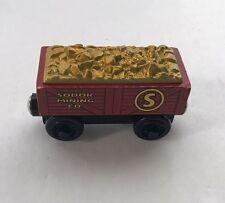 Thomas Tank Engine & Friends Sodor Mining Gold Car Wooden Train