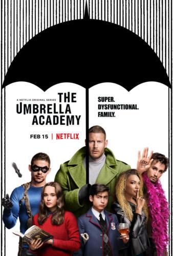Art Print poster fabric The Umbrella Academy New TV Series Custom 14x21 24x36in