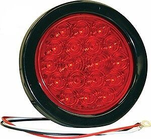 """Buyers,4""""Round Stop-Turn-Tail Light,18 LED Red,5624118 Wrecker,TowTru<wbr/>ck,Rollback"""