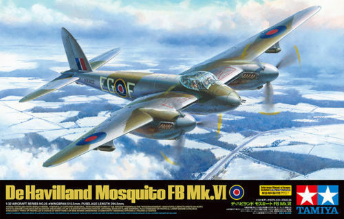 Mosquito de havilan FB mk.vi - 1   32 modelo de avión - Tamiya 60326