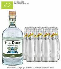 The Duke Gin 45% vol. / 0,7 L & 10x Schweppes Dry Tonic 0,2 L inkl. 1,00€ Pfand