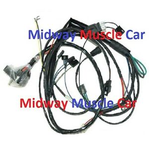 image is loading engine-wiring-harness-v8-71-pontiac-gto-lemans-