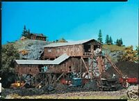 Faller Old Coal Mine - Painted/weathered Model Kit