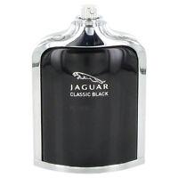 Jaguar Classic Black Cologne For Men Eau De Toilette Spray 3.4 Oz Tester