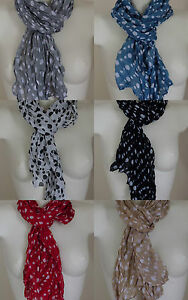 SCARF-TAGELMUST-STOLE-SPOTTED-APPEARANCE-CRUMPLES-6-COLOURS-160-X50-cm