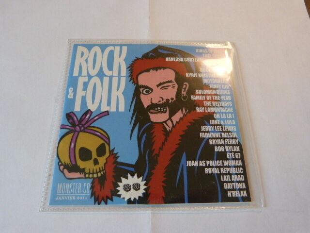 MOTORHEAD - KINGS OF LEON - BELLRAYS - BOB DYLAN - BRYAN FERRY - CD compil !!