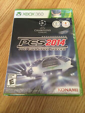 ** Pro Evolution Soccer PES 2014 (Xbox 360, 2013) Brand New & Factory Sealed