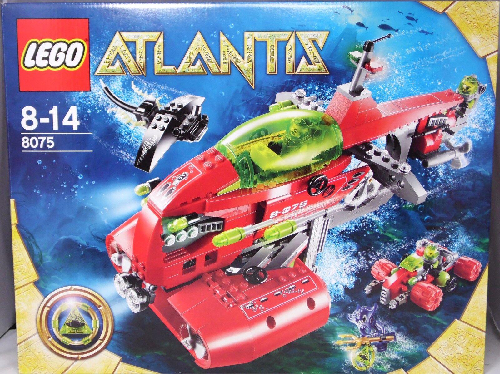 Lego Unterwasser Atlantis 8075 Neptuns U-Stiefel  und Scooter ungeöffnet NEU NEW