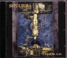 CD (NEU!) . SEPULTURA - Chaos A.D. (Refuse/Resist Territory mkmbh