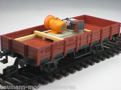 Duha Rinfusa Traccia H0 11332-generatore A Benzina Su Telaio In Legno-mostra Il Titolo Originale