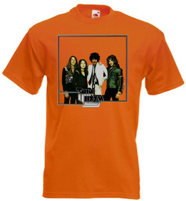 Funny THIN LIZZY /'Whiskey In The Jar/' PUNK MUSIC TRIBUTE T SHIRT All Sizes ~ 5XL