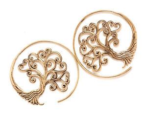Tree of Life Scarlett Earrings Bronze Symbol Jewelry - New