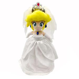 Super Mario Odyssey Princess Peach Wedding Dress Plush Toy Stuffed Animal 13 Ebay