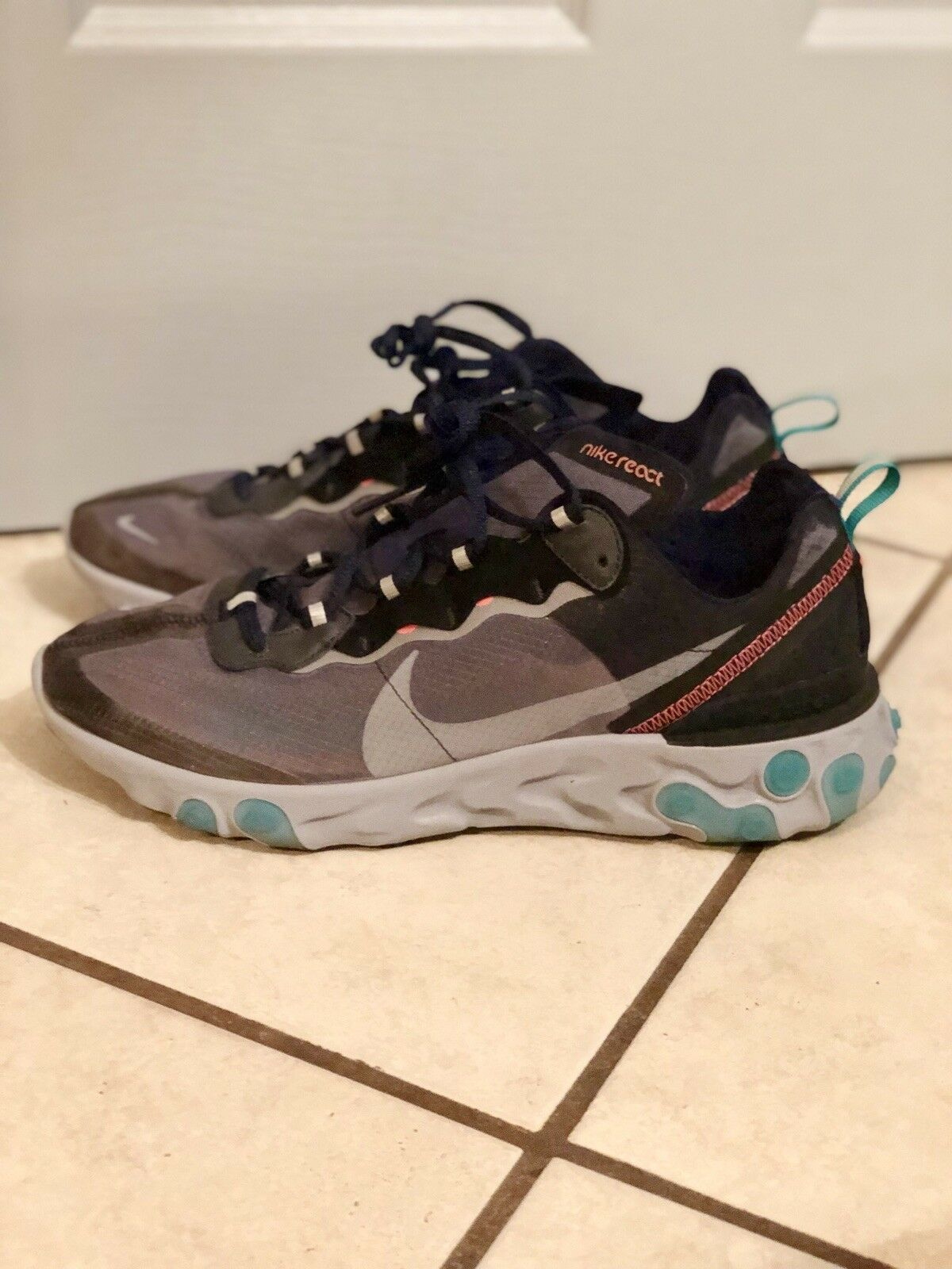 87514a348a48 Nike react element 87 Neptune Green 10.5 noluvp2856-Athletic Shoes ...