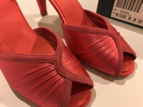 Ladies Suede Size 37 e Court Satin Pink Uk Caruso Got D 4 Eur Clarks Shoes rx6Yvr