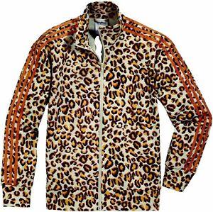 Details about Adidas Originals Jeremy Scott JS Leopard Trefoil Firebird TT Jacket o21158 show original title