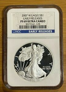 2007-W-Proof-Silver-Eagle-NGC-PF69-UCAM-Early-Releases-125