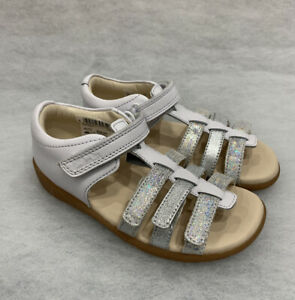 CLARKS Zora Spark Girls Leather Sandal
