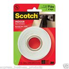 2x Scotch 110 Indoor Double Sided Foam Mounting Tape