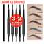 LOOKFAB-Eye-Brow-Definer-amp-Brush-Pencil-Duo-Double-Ended-Eyebrow-Definer-Brow thumbnail 4