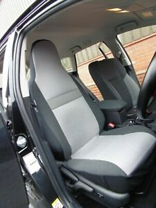 TO-FIT-A-TOYOTA-AYGO-CAR-SEAT-COVERS-DOG-TOOTH-GREY-2-FRONTS
