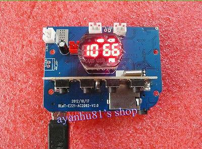 DC 3.3-5V TF Card FM U Disk MP3 Decoder LN4863 Dual Channel 3W*2 Amplifier Board