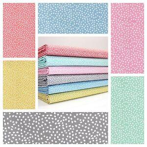 ceae33e2b7bd6 Details about LOVE SPOTTY - MODERN DOT IRREGULAR SPOT cotton fabric  DRESSMAKING QUILTING