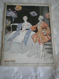Vintage Programme Theatre Marigny 1926-27 Georges Villa Art Deco Cover Periods & Styles Art Deco